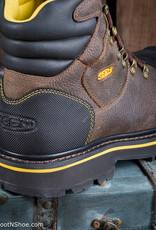 Keen Utility Men's Milwaukee Brown Waterproof Safety Toe Work Boots 1007976