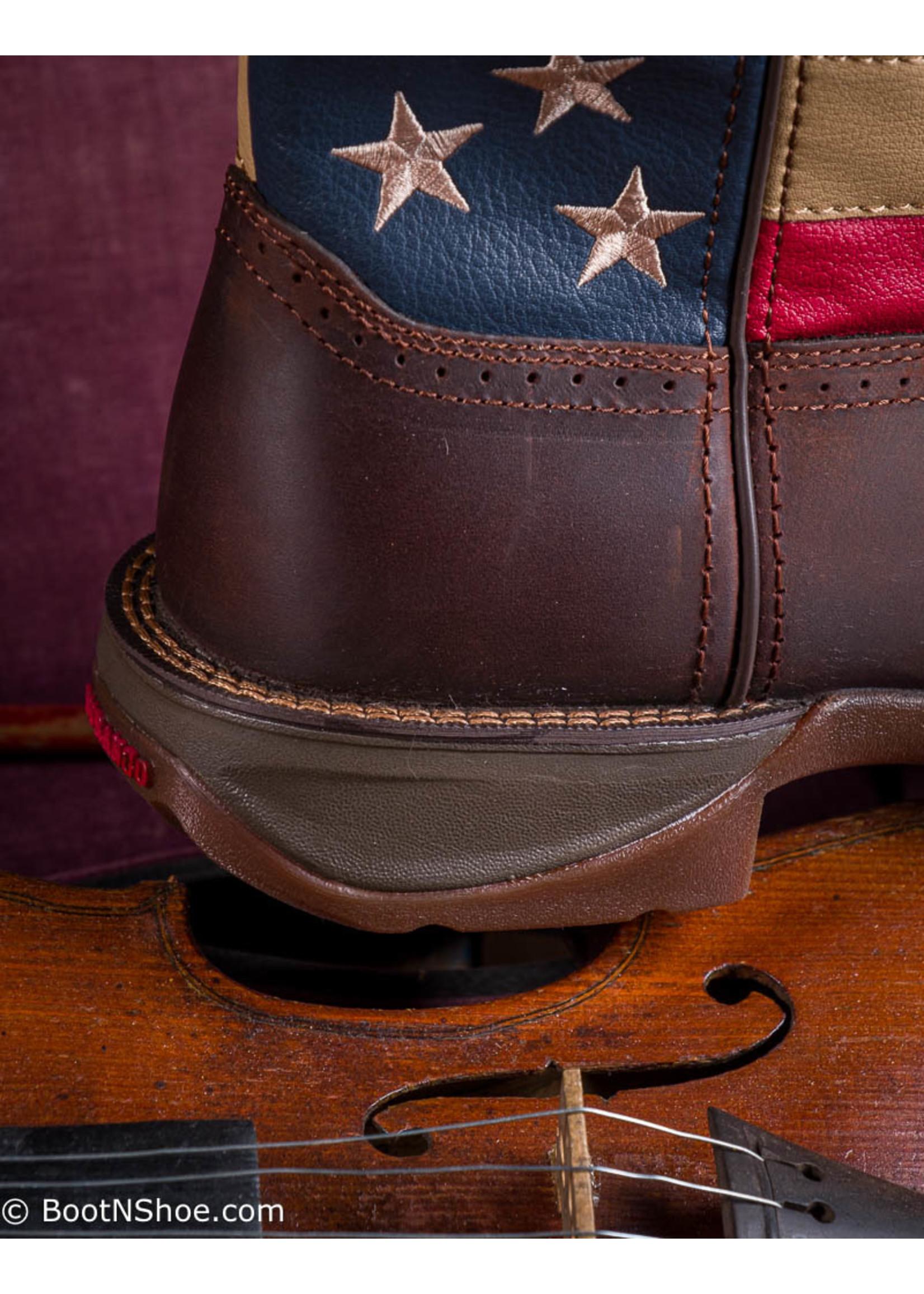 Durango Men's Rebel Patriotic Pull-on Western Flag Boot DB5554