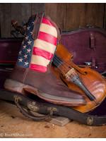 Durango Men's Rebel Patriotic Pull-on Western Flag Boot