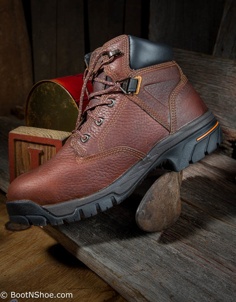 """Timberland Pro Helix Men's 6"""" Alloy Toe Brown Work Boot 85594"""