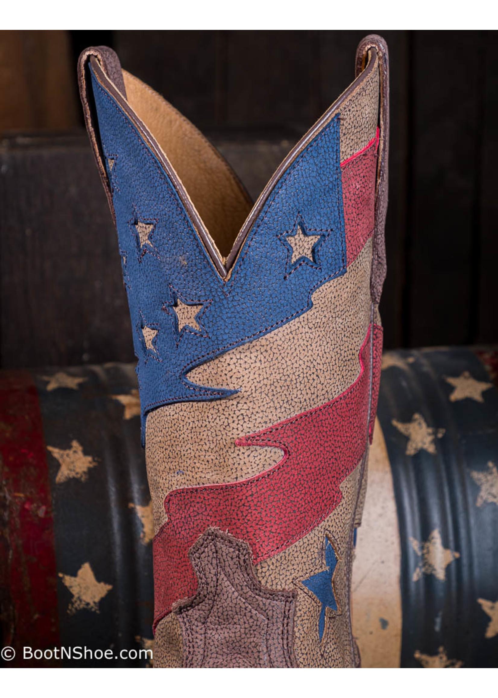 Twisted X Men's VFW Rancher Lite Flagtop Boots MRL0002