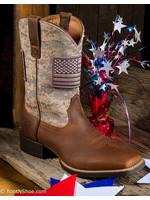 Ariat Men's Sport Patriot Camo Square Toe Boots