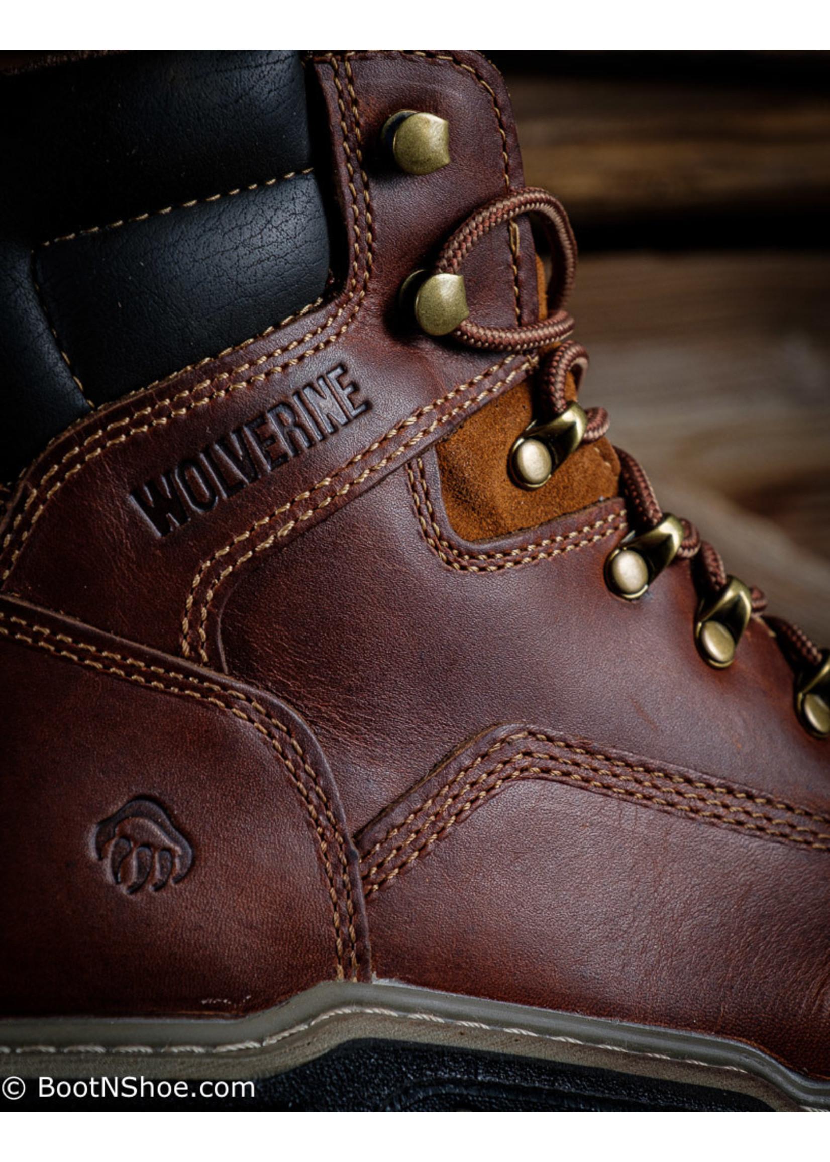"Wolverine Men's MultiShox Steel Toe Raider 6"" Work Boot  2419"