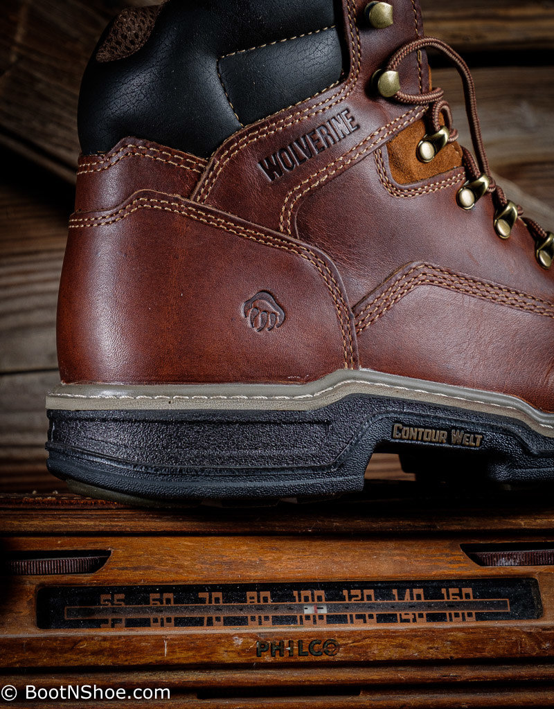 "Wolverine Men's MultiShox Steel Toe Raider 6"" Work Boot  2419"