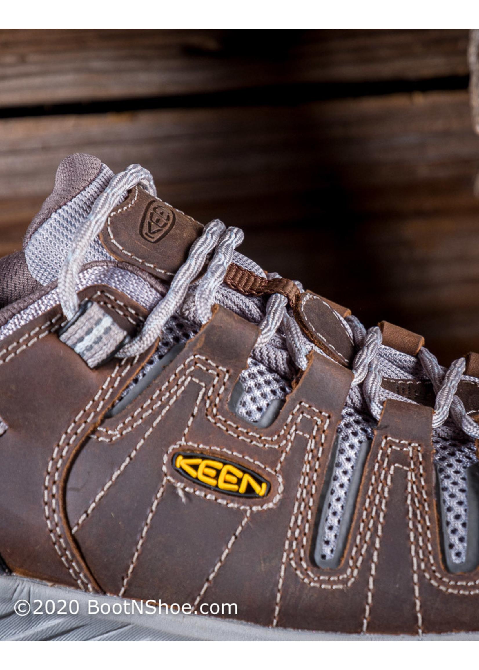 Keen Utility Women's Flint Low II Cascade Steel Toe Work Shoe  1023233