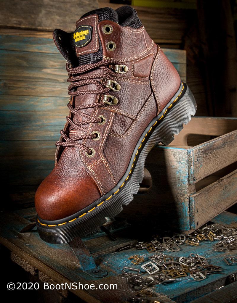 dr martens ironbridge steel toe boots