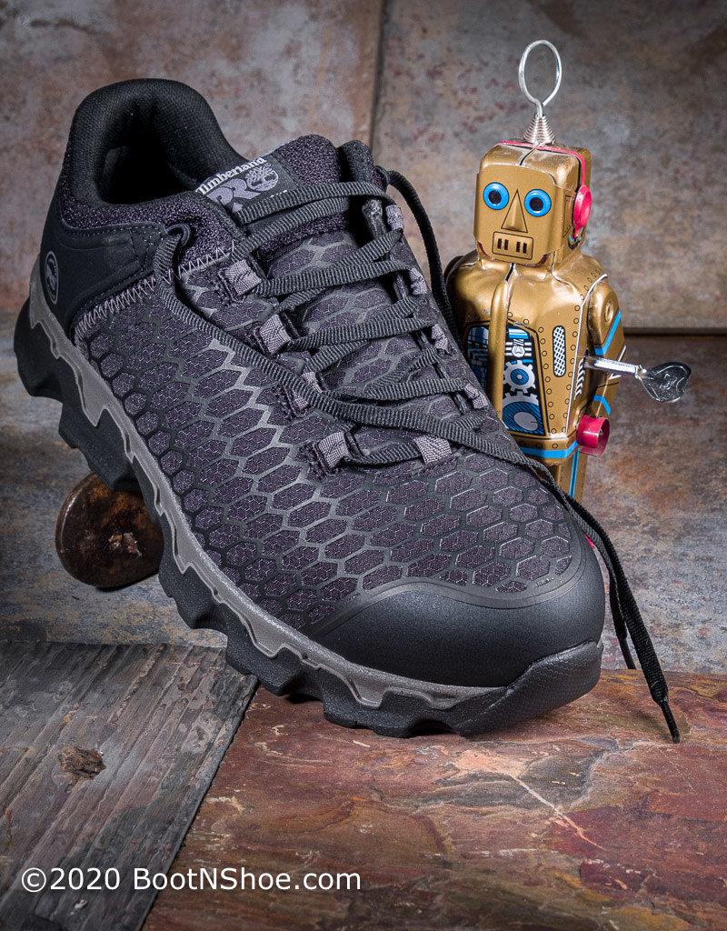 Timberland Pro Men's Powertrain Sport Alloy Toe Work Shoes A1B6U
