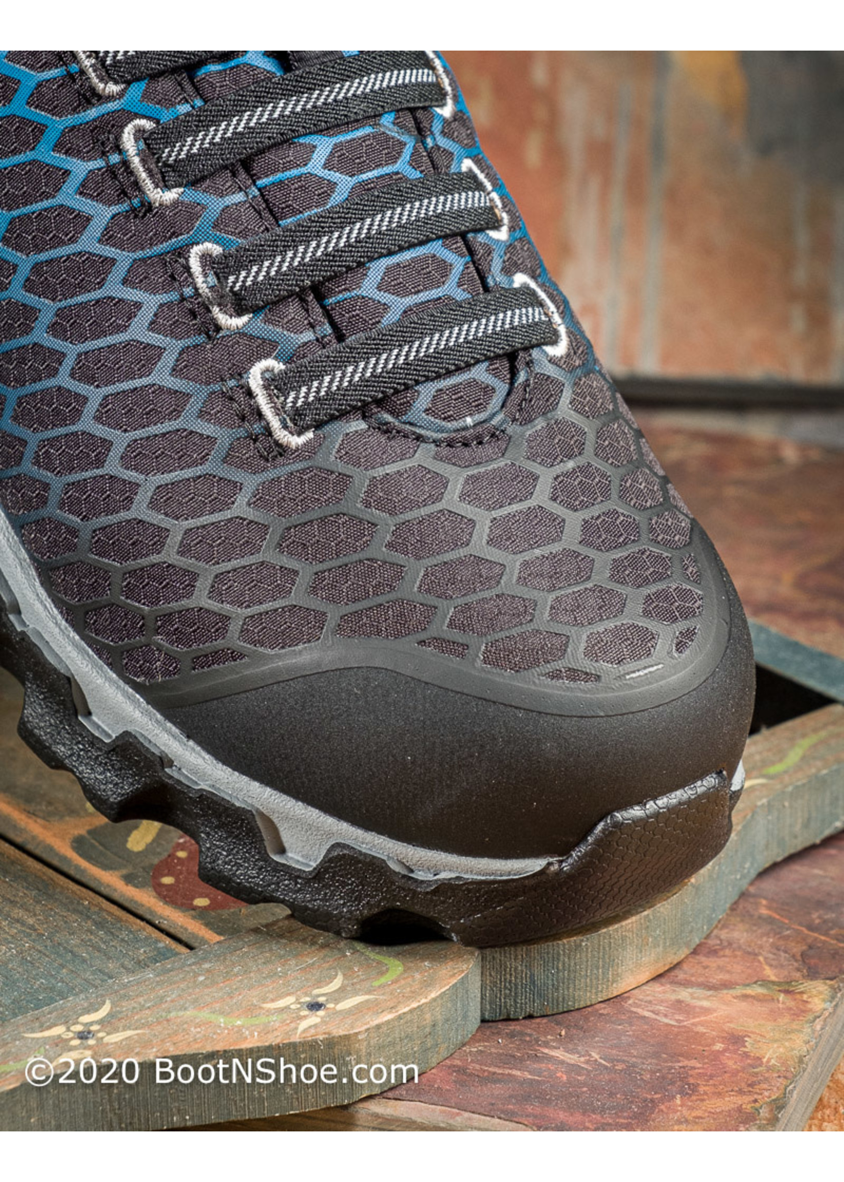 Timberland Pro Women's Powertrain Sport Slip On Alloy Toe SD Work Shoes A1I54