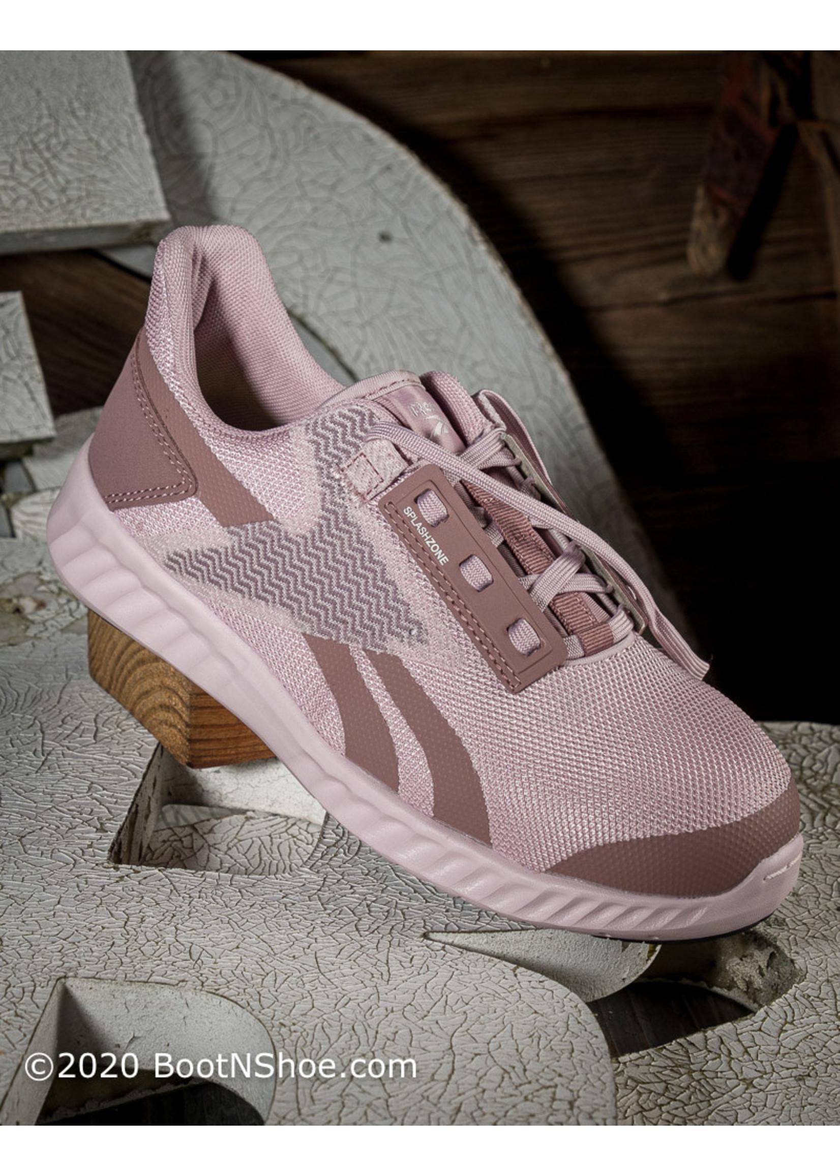 Reebok Women's Rose Gold Sublite Legend Athletic Composite Toe Work Shoe RB212