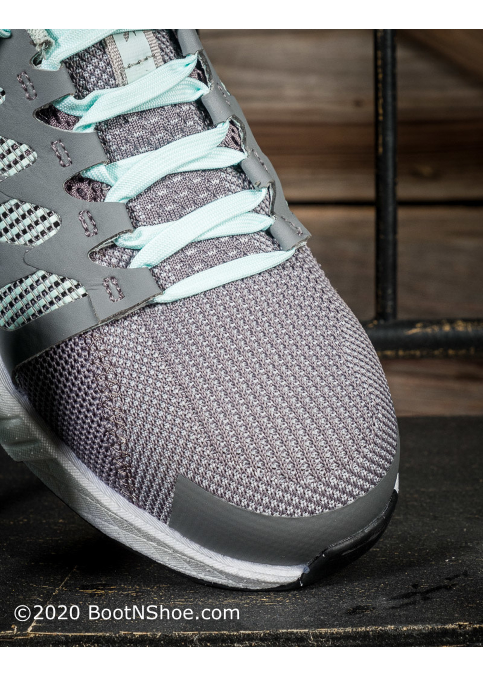 Reebok Women's Fusion Flexweave™ Gray & Mint Athletic Work Shoe  RB316