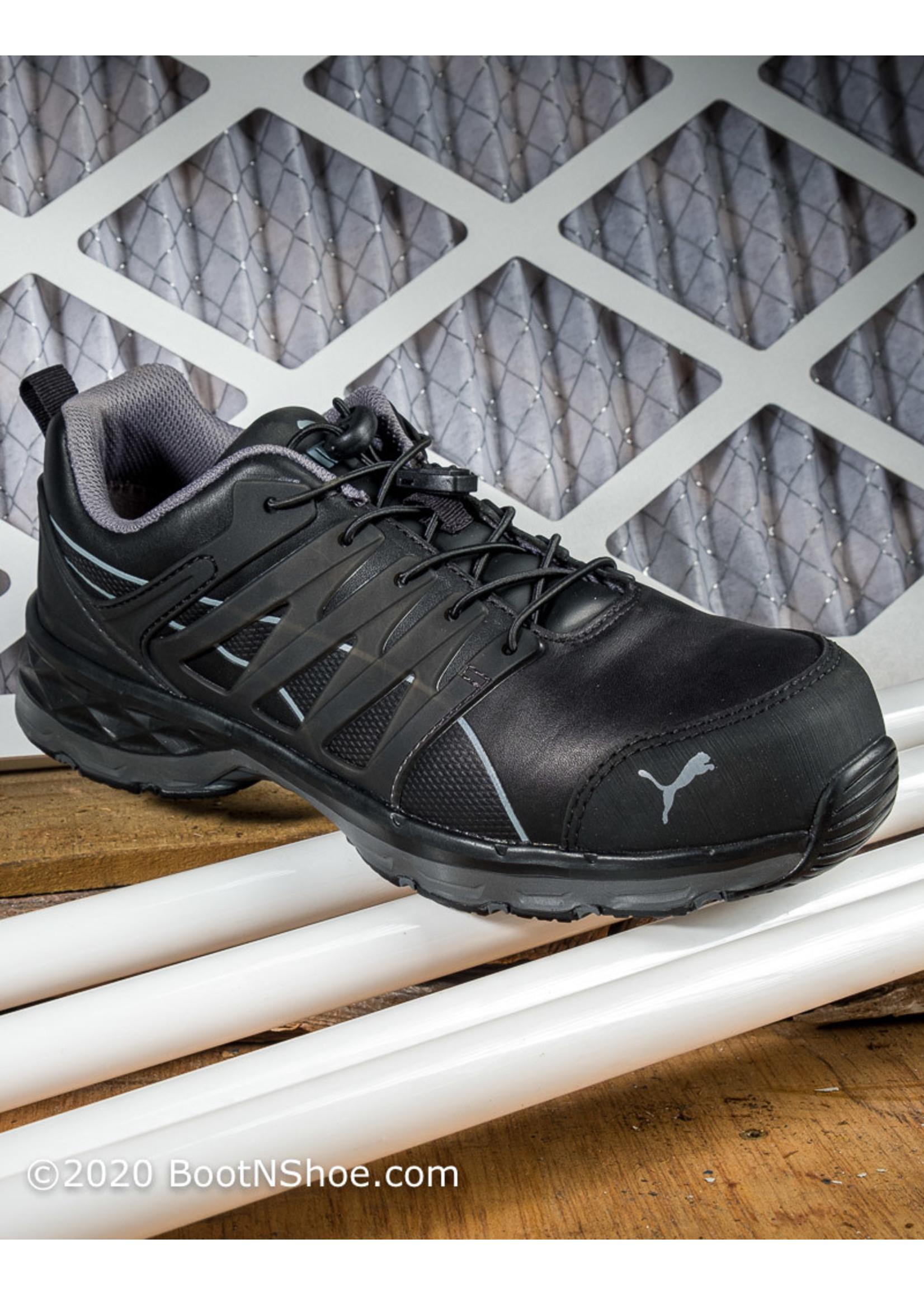 Puma Men's Velocity 2.0 Black Low SD Work Shoes 643845