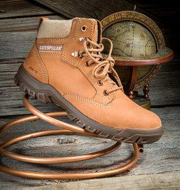 "Caterpillar Women's  Tess Steel Toe  6"" Tan Work Boot P91009"