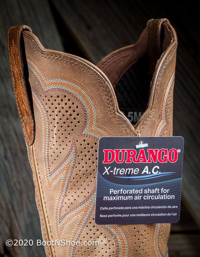 Durango Women's Lady Rebel Pro™ Cognac Ventilated Western Boot DRD0376
