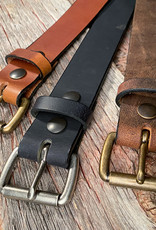 Boyer's Handmade Golden Brown Belt
