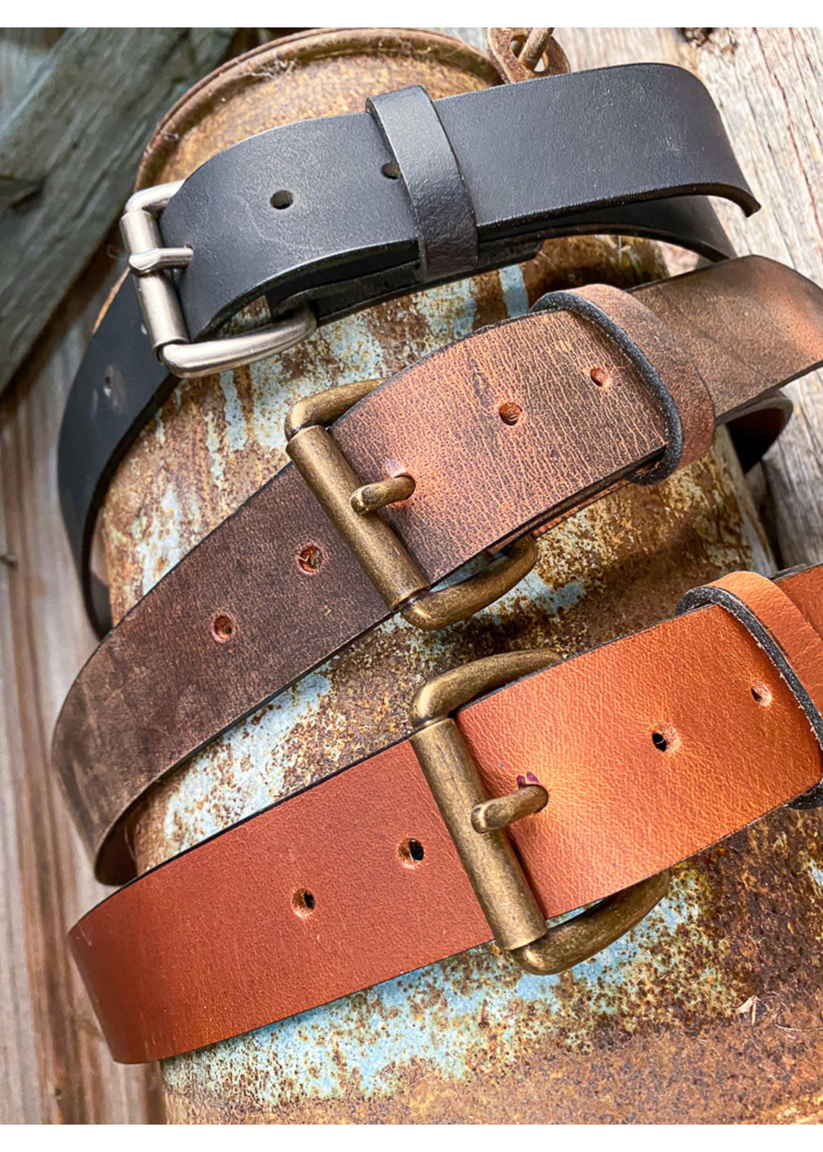 Boyer's Handmade Golden Brown Belt