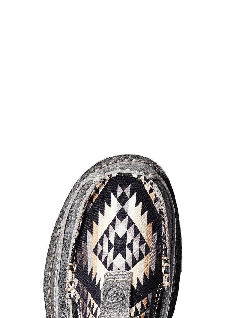 Ariat Women's Cruiser Titanium Black with Aztec Print 10033938