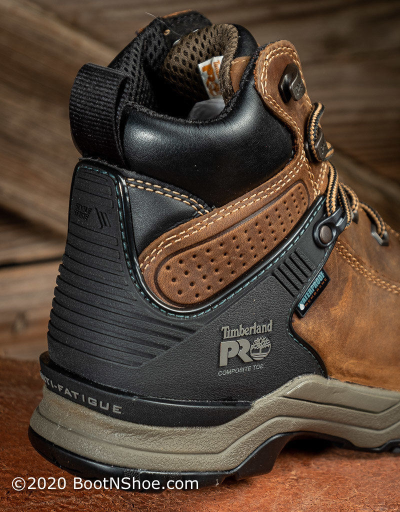 Timberland Pro Women's Hypercharge Composite Toe Waterproof Work Boot A24VW