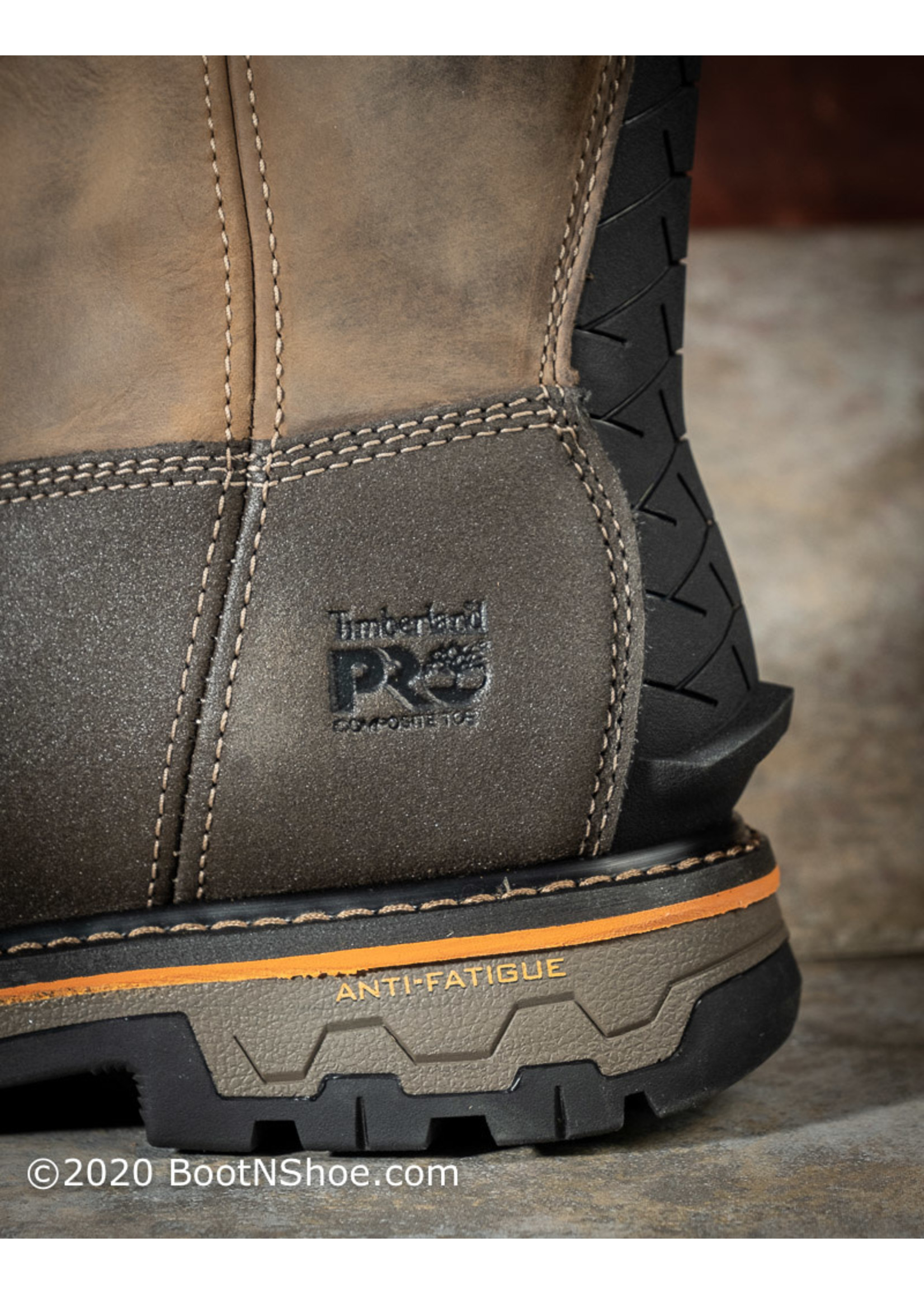 Timberland Pro Men's True Grit Composite Toe Waterproof Pull on Boot A2297