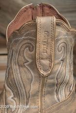 Durango Women's Crush Distressed Tan Shortie Western Boot DRD0372