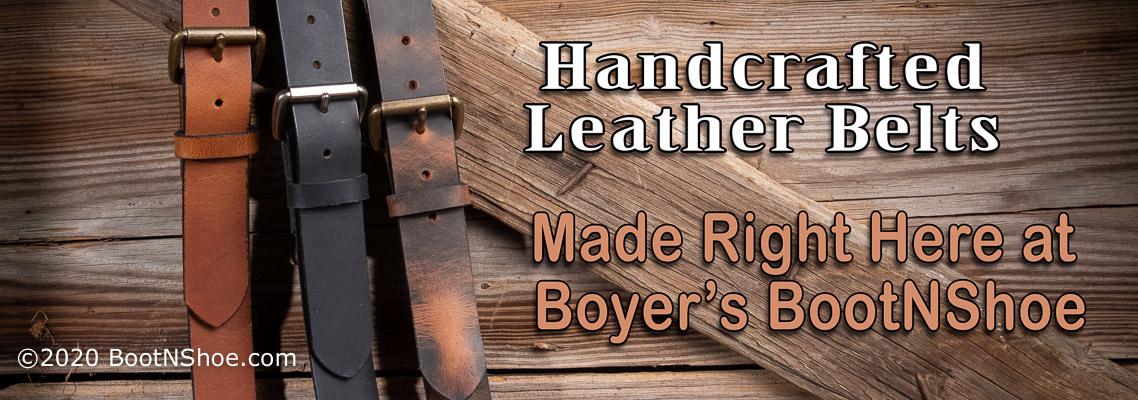 Boyer's Belts