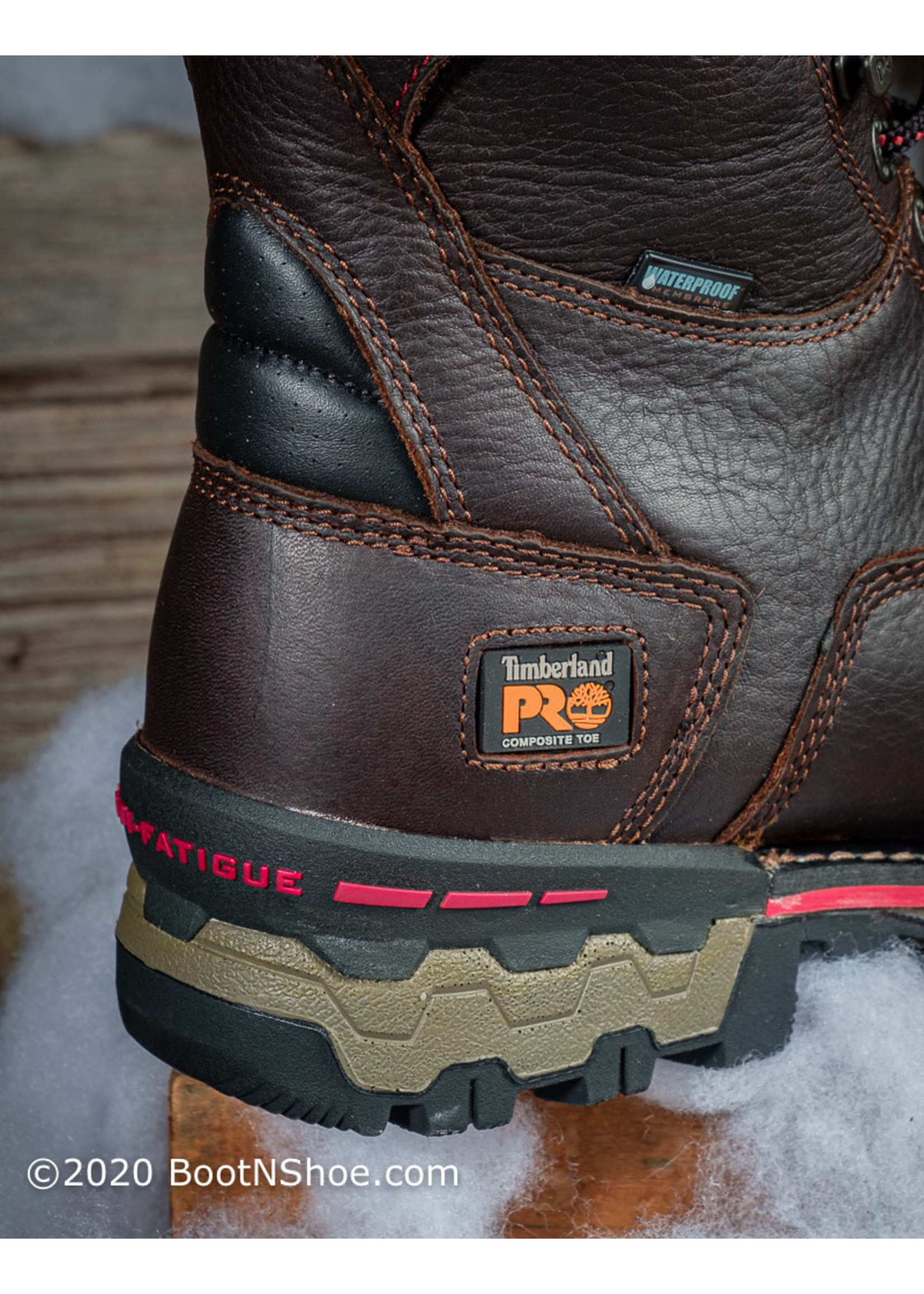 """Timberland Pro Men's Insulated 8"""" Boondock Composite Toe Work Boot A128P"""