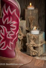 Ariat Women's Delilah Java Square Toe Western Boot 10031593
