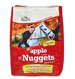 Manna Pro Apple Nuggets Horse Treat 1lb