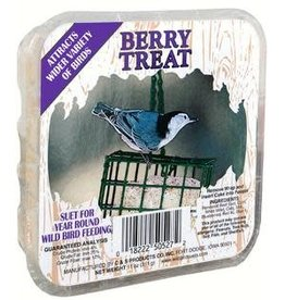 Berry Treat Suet w/Picture Label