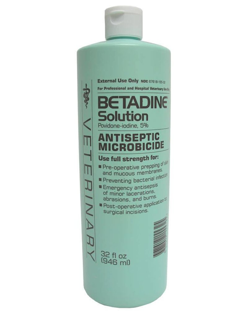 BETADINE SOLUTION 32 OZ