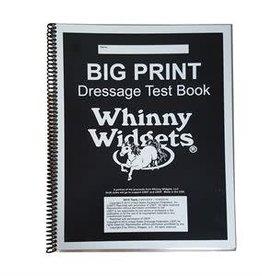 whinny widget WHINNY WIDGET BIG PRINT BOOK