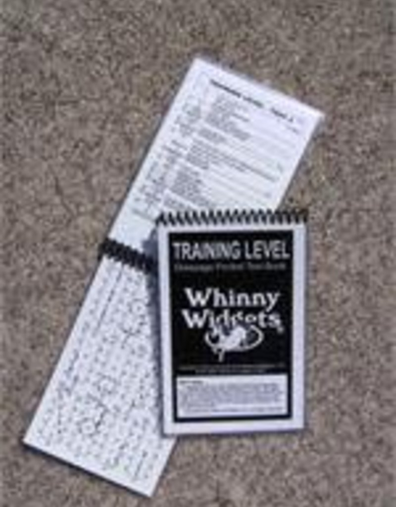 whinny widget Whinny Widget Training Level 2019