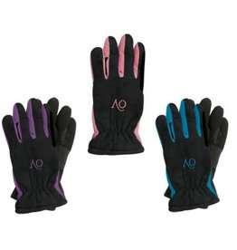 Ovation CHD Polar Suede Fleece Glove Black/Purple CHD L (6)