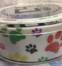 C4 C4 PAW PRINTS BELT w/buckle