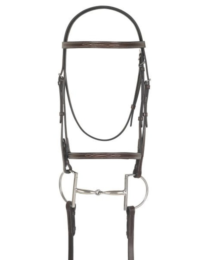 BRIDLE CAMELOT PONY FANCY RAISE