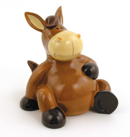 Bank Sitting Horse