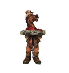 Horse Howdy Corkscrew & holder