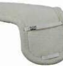 SADDLE PAD FLEECE TUFF RIDER