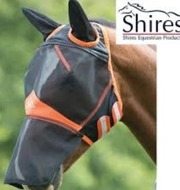 SHIRES Fly Mask Fine Mesh