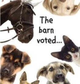 Birthday Card -THE BARN VOTED