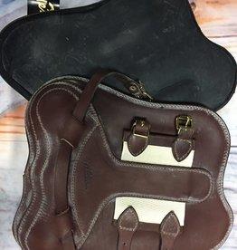 PESSOA Pessoa Leather Open Front Boots