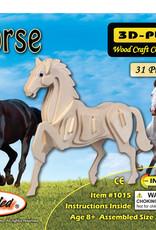 HORSE WOOD 3D PUZZLE