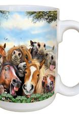 Horse Selfie Mug 15oz Coffee
