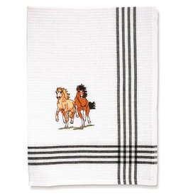 Tea towels 100% cotton enbroidered