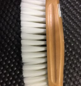 Brush wood back synthetic goat hair