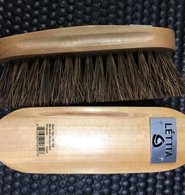 Wood Back Mud Brush Lettia