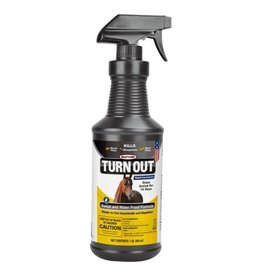 Durvet Fly D-Turn Out Sweat & Waterproof Fly Spray 32 Oz