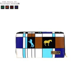 The Trail Of Painted Ponies Collection Secretary Style Wallet