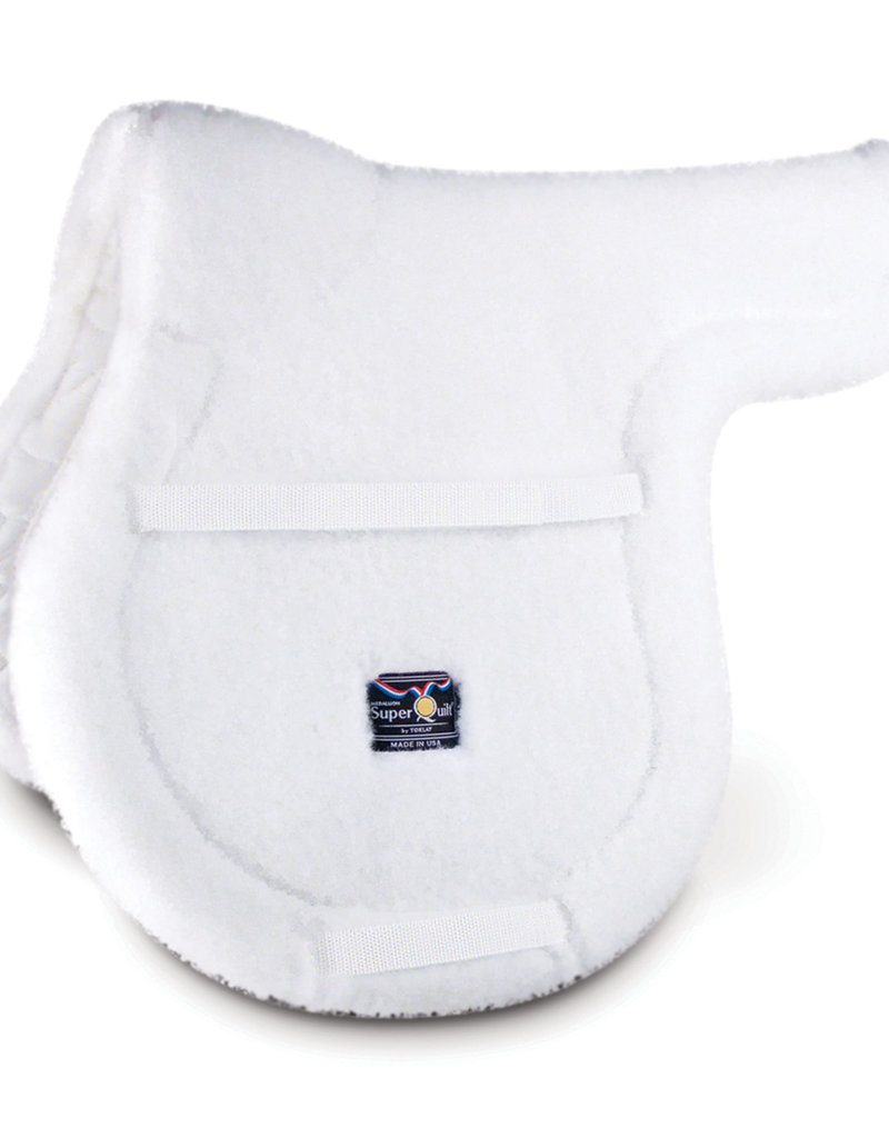 SuperQuilt High Profile Saddle Pad Fleece cc