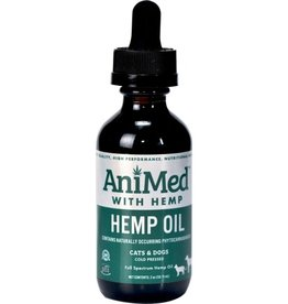 Pure Hemp Oil for Cats/Dogs 2oz