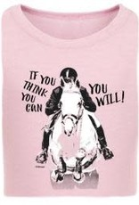 Stirrups Kids If you think you Can You Will T Shirt